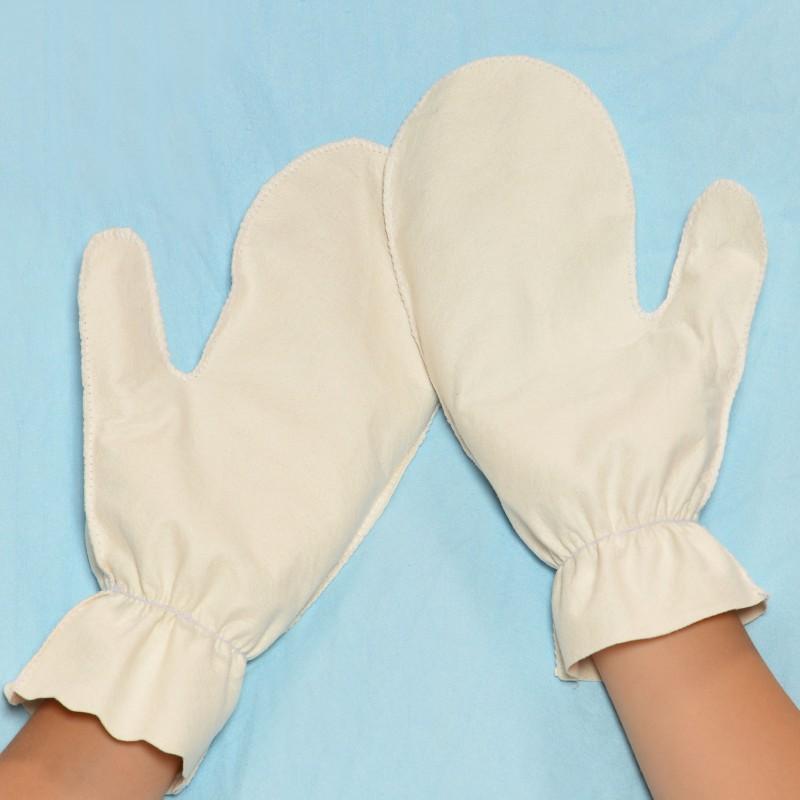 DERMASOVA Rękawiczki (1-3) - Bielizna Antybakteryjna - AZS, Egzema, Łuszczyca