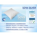 SOVA SILVER Komplet Pościeli 1+1(50/60) Pościel Antyroztoczowa